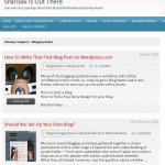 Post Thumbnail of How to put Excerpts & Thumbnails on 1st page of 2010 WP blog