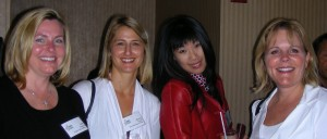 Julia Francis - Ubiquity PR, Wendy Fisher - Moxie Mtkg, Sharon Lee - Shamiko Design, Kelly Connelly - Kelly Connelly Design