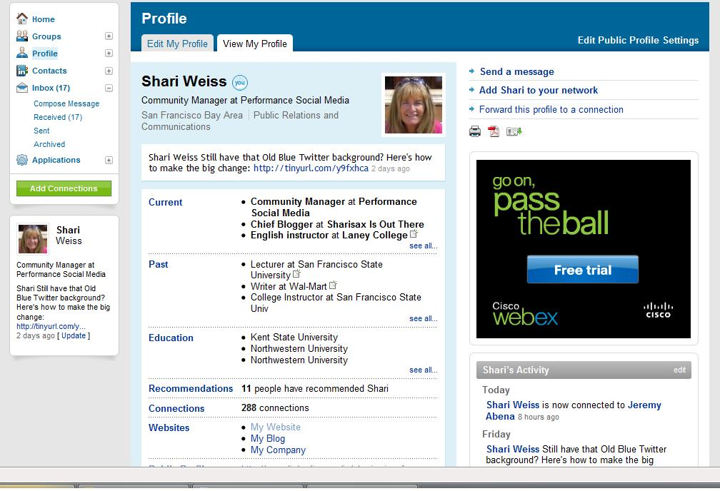 LinkedIn Profile top The Magic of LinkedIn: Making your PROFILE work for you