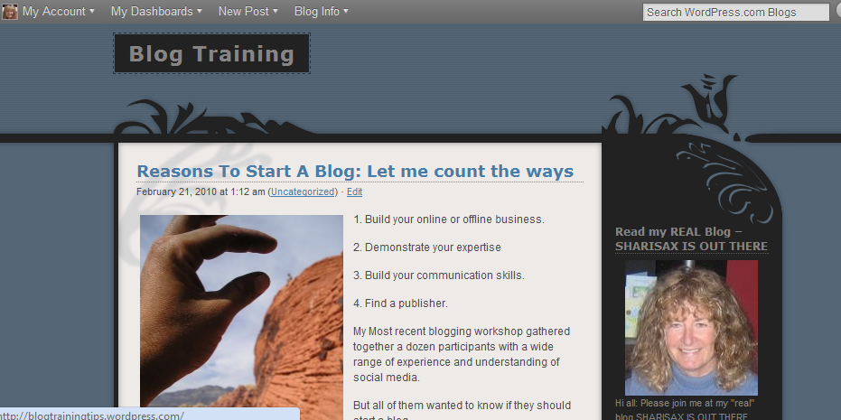 Post Thumbnail of Should You Set Up Your Own Blog?