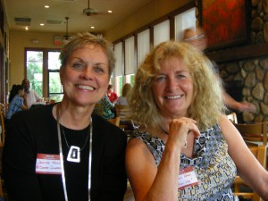 Janine and Shari 300x225 The Main Reason You Should Attend a Linchpin Meetup