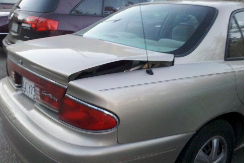 Rear Ended A Rental Car