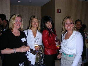 4 ladies1 300x225 What should you talk about at a networking event? [Briefly Stated]