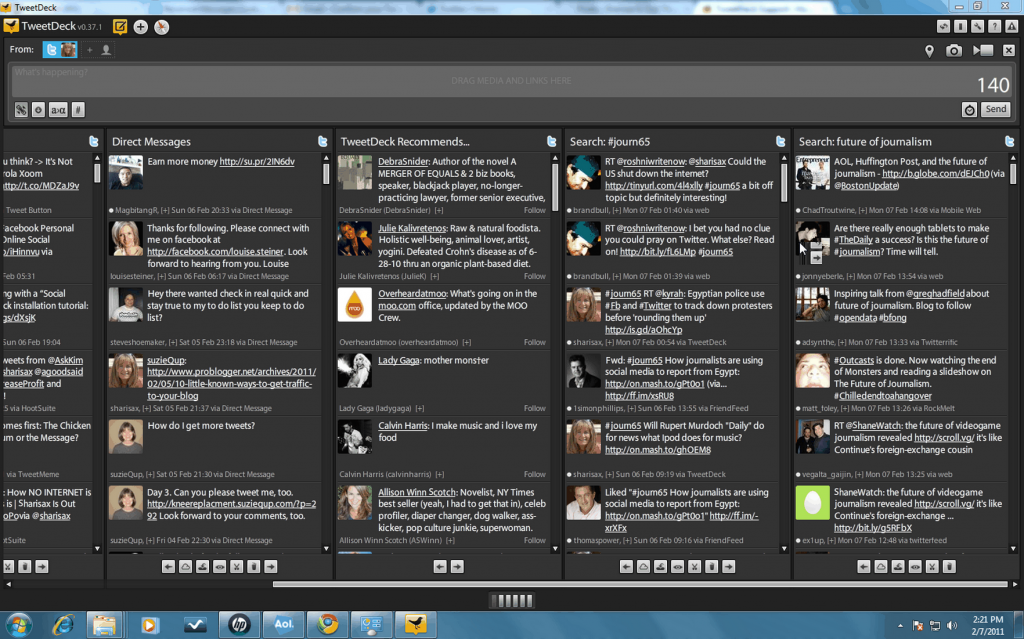 Tweetdeck for use article 1 1024x639 Adding columns to your TweetDeck Social Dashboard