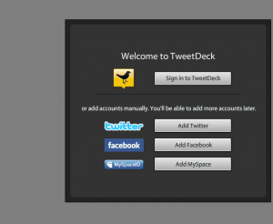 tweetdeck 4 300x246 Organize your Tweeting with a Social Dashboard: TweetDeck installation tutorial: Feb 2011