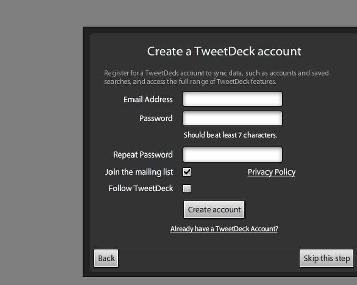 Organize your Tweeting life by installing Tweetdeck | Sharisax Is