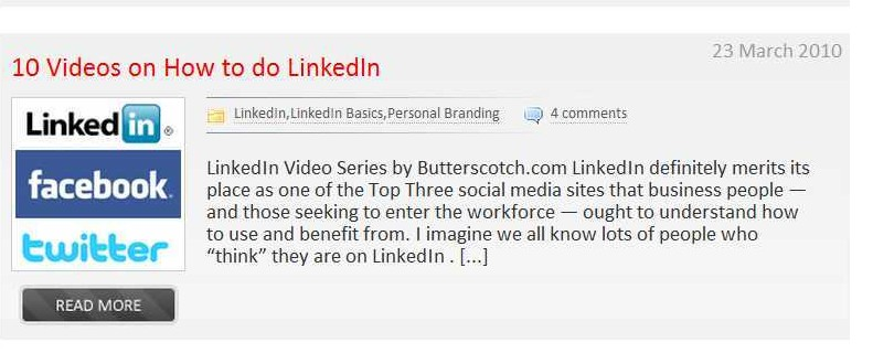 10 videos to help you  DO LinkedIn